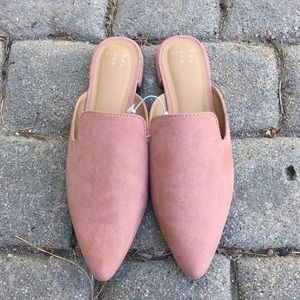 Urban Outfitters Shoes - Dusty Pink Loafers NWT